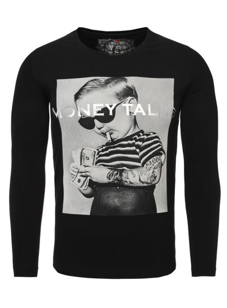 Kingz Herren Longsleeve Money Talks