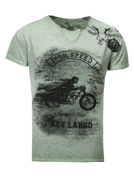 Key Largo T-Shirt IRON SPEED yellow
