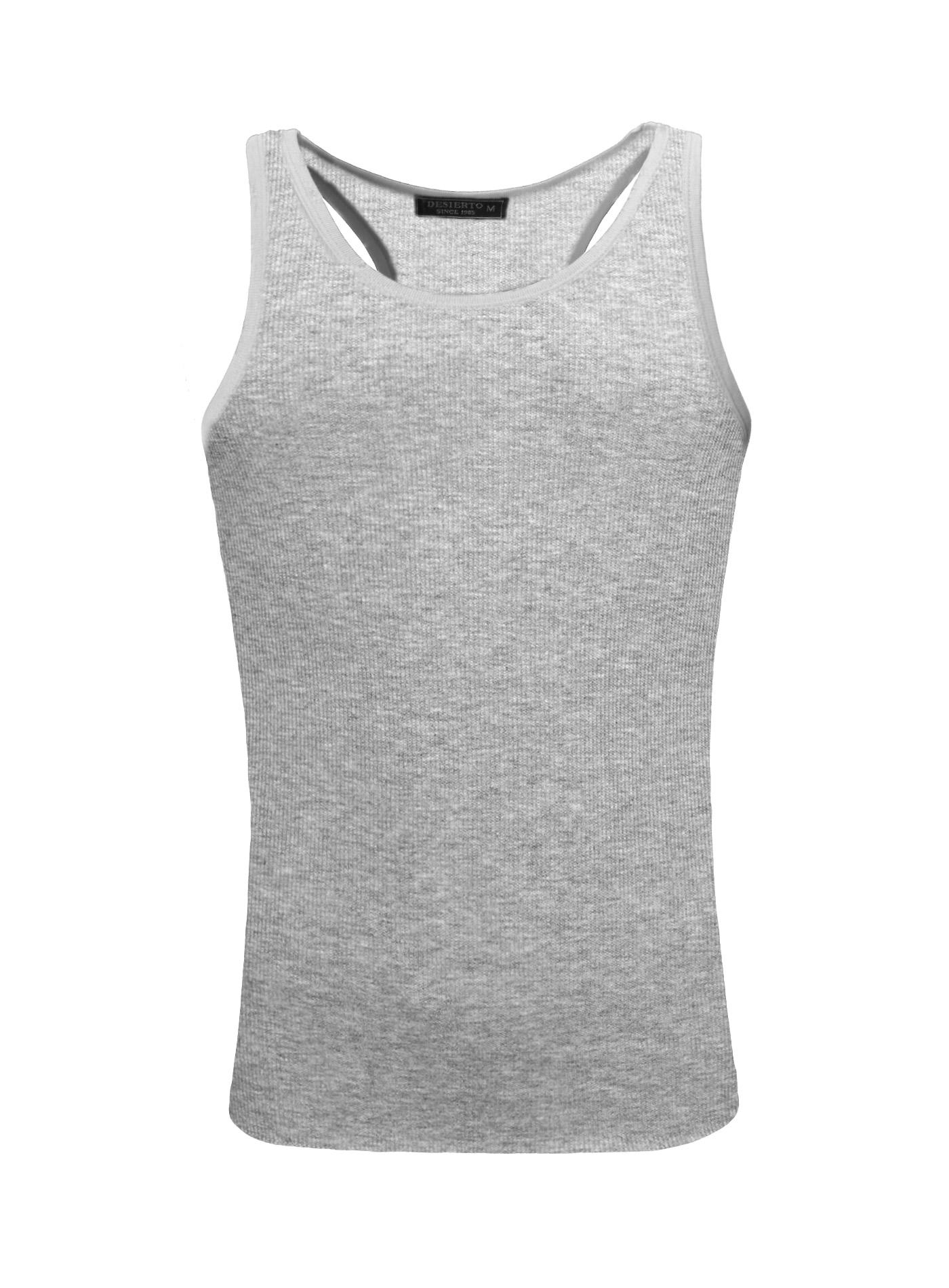 13daffeb Black Sleeveless Undershirts
