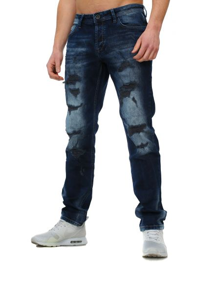 Young & Rich Jeans Dark Sky dunkelblau