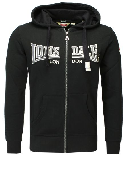 Lonsdale Sweat Jacket ALTHORP black