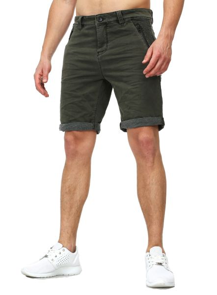 Urban Surface Sweat-Denim Shorts Biker